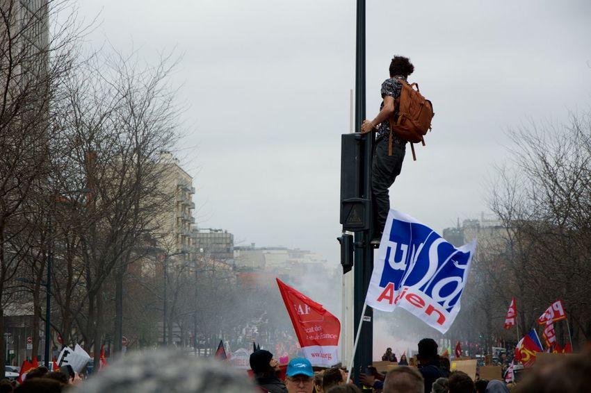 Freedom Headline Protest Riot Slogan Street Street Photography Streetphotography Student Students Toulouse