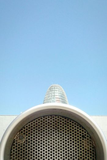 Untitled Museu Del Disseny De Barcelona Torre Agbar Architecture Building Exterior Modern Built Structure No People City Outdoors Day Barcelona DeeArt Samsungsnapshooter Samsung Smart Camera Samsung Photography Samsung Galaxy Camera Phonecamera Cameraphone Urbanphotography Untitled Photography Untitled Tower Agbar Minimalist Photography  Minimalism Abstract Photography