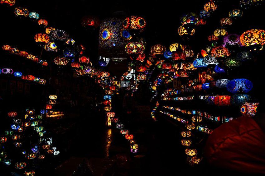 Lighters Lighters Lights Multi Colored Illuminated Night Indoors  Close-up