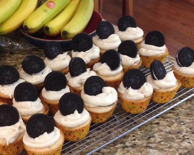 Cupcakes Cookiesandcream Selfmade Yummy Makemehappy Makemehappy<3 Sugar