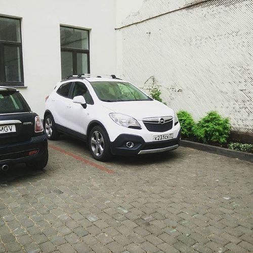 MokkaDay 691: Riga рига доехали лишь с задержкой после границы, ибо там большой дорожный ремонт. Латыши ездят отвязно. На трассах скоростной режим не соблюдают, в городе перестраиваются как попало, паркуются плохо. Все прям как у нас! Лукойлы опять же. опель Мокка опельмокка Opel Mokka Opelmokka