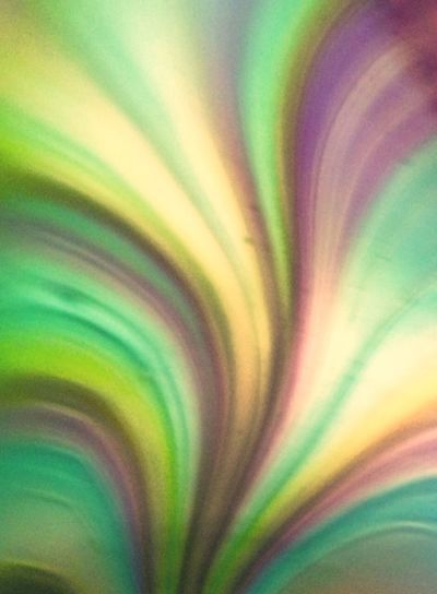 Multi Colored Backgrounds Creativity Abstract Pattern Green Color Full Frame Close-up Paper No People Concentric Glass Art