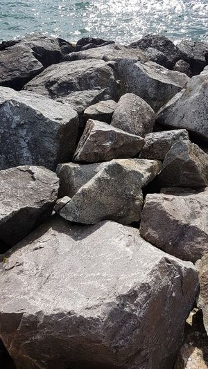Stone Backgrounds Full Frame Textured  Outdoors Vacations Nature Day No Peoples No People Beauty In Nature Sea View Sea And Sky Sweeden Sweden Rocks