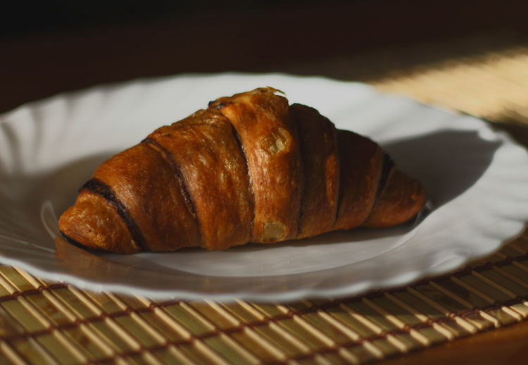 Breakfast Croissant Food Food And Drink Freshness Ready-to-eat Still Life Sweet Food