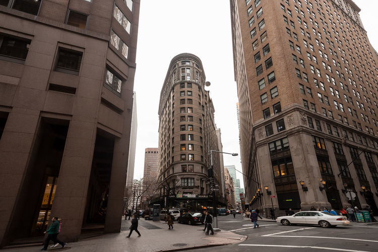 Architecture Building Exterior Built Structure City Day Low Angle View Modern New York New York City Newyork Newyorkcity No People Outdoors Skyscraper