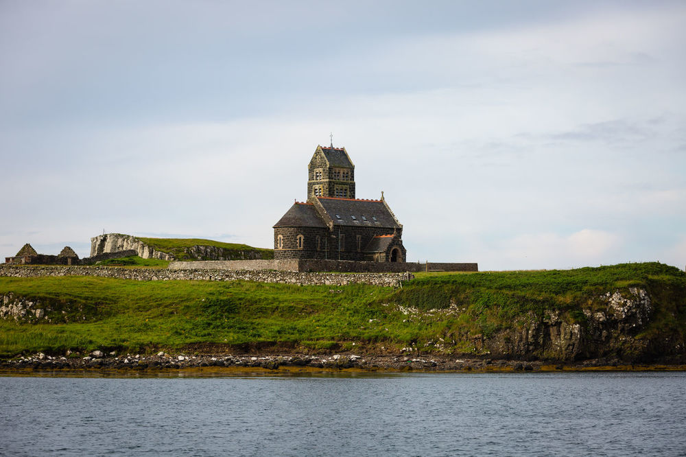 Architecture Building Building Exterior Built Structure Canna Canon Canon5Dmk3 Canonphotography Church Cloudporn EyeEm Best Shots Eyeem Scotland  Historic History Island Islandlife Religion Scotland Sea Sea And Sky Stone Tranquility Travel Traveling United Kingdom