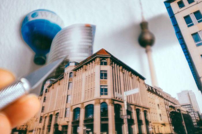Close up Make It Yourself 3D Art Wall Art My Fuckin Berlin Fernsehturm / Tv Tower Cutting Knife Getting Inspired Photography