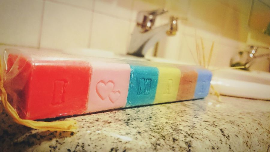 ILoveMamá Soap Colorful