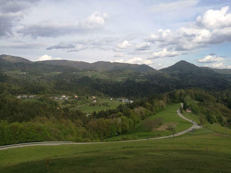 Trbovlje Landscape Mountain Range No People Rural Scene Scenics Cloud - Sky Beauty In Nature Outdoors Slovenia Nature Tranquility
