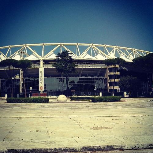 Rome ASRome Stadion Football Italy Italian Trip Stadio Stadioolimpico