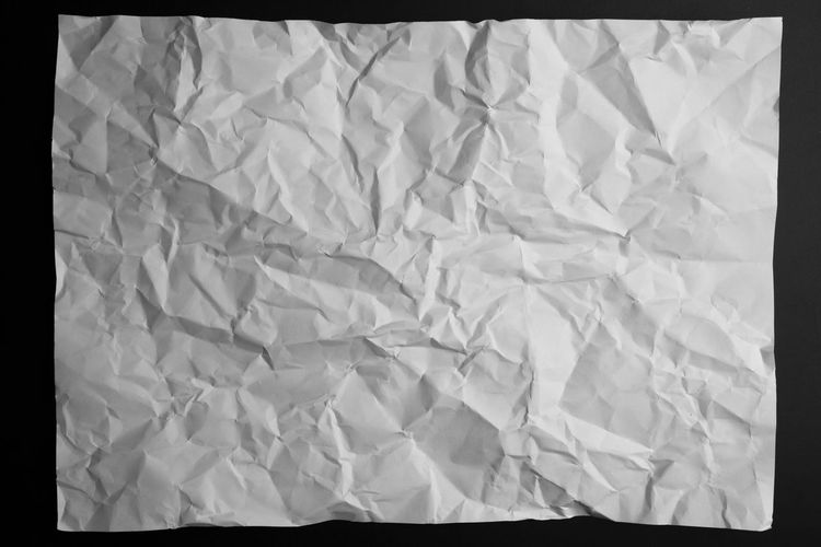 White crumpled paper list texture or background. Crumpled Crumpled Sheet Paper View Surfaces And Textures Abstract Abstract Backgrounds Background Background Defocus Background Texture Backgrounds Cardboard Crumpled Paper Crumpled Paper And Blind Fire Crumpled Toilet Paper Crumpled, Paper Papercraft Paperwork Space Space For Text Surface White White Background White Color White Line