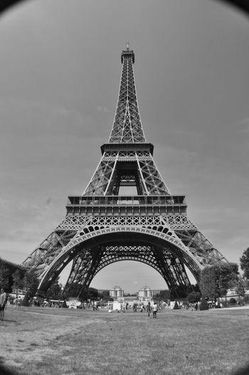 #blackandwhite #EiffelTower #europe #firstpicture #France #life Is Beautiful #Paris #PicturePerfect #sunset #sun #clouds #skylovers #sky #nature #beautifulinnature #naturalbeauty #photography #landscape #tower #photography Architecture First Eyeem Photo