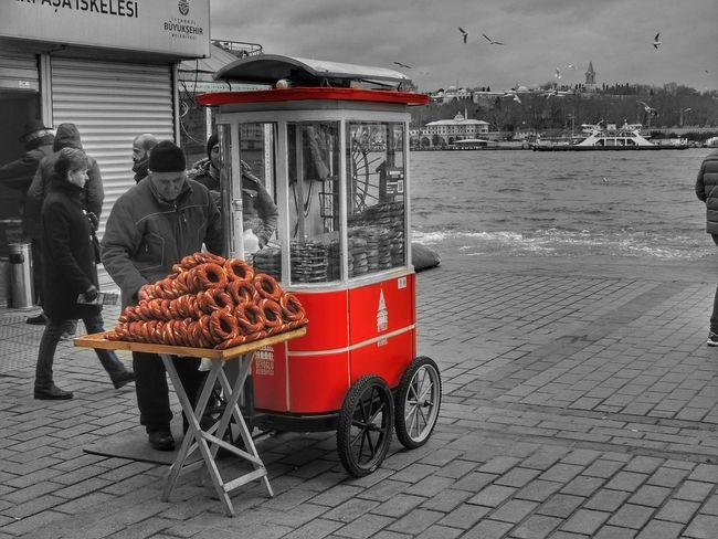 City Istanbul Turkey Simitçi Karaköy