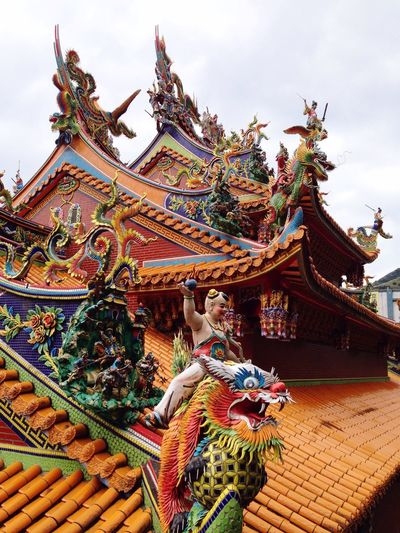 Dragon boy Asian Culture Amazing Architecture