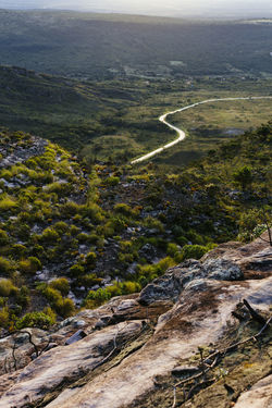 view of the Chapada Diamantina valley from the Pai Inácio Hill Morro Do Pai Inácio Morro Do Pai Inacio Chapada Diamantina! Road Beauty In Nature Landscape Mountain Nature No People Scenics Tranquility Travel Destinations Been There. Lost In The Landscape