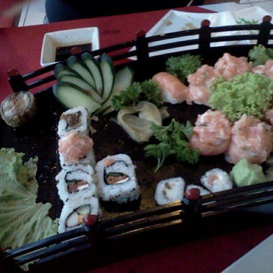 Jantando um japa com sister Japafood Sister Preferiado