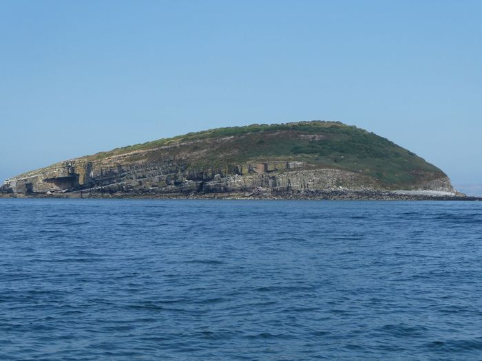 Puffin Island Island Tranquil Scene Copy Space Calm Sea Anglesea Water Sea Sky Scenics - Nature Architecture Blue Clear Sky No People Beauty In Nature Outdoors