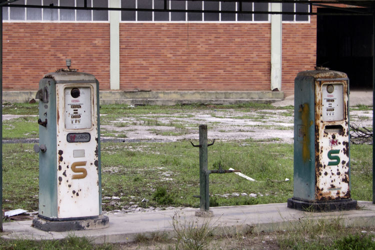 Gas Station Gasolinera Old Old Gas Pump Old Gas Pumps Old Gas Station Petrol Station Rusty