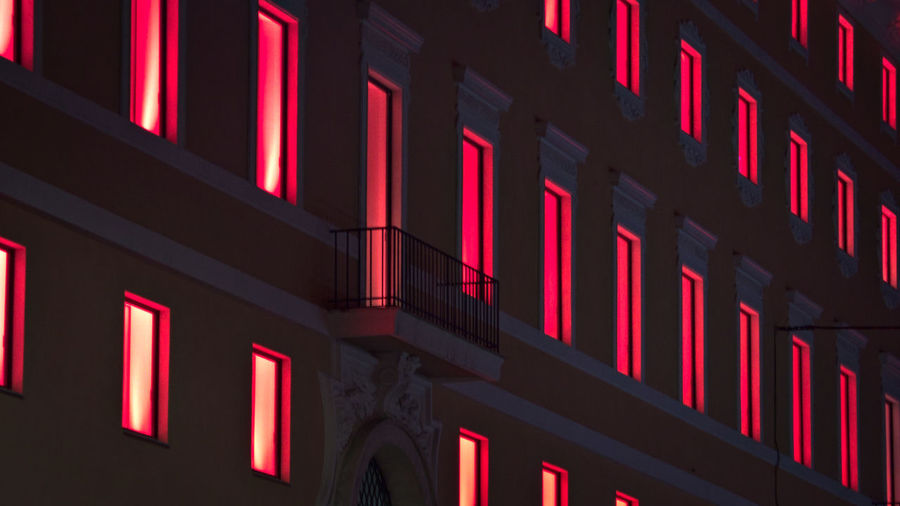 EyeEm Best Shots Exceptional Photographs Architecture Building Exterior Close-up Illuminated In A Row Indoors  Neon Night No People Red Visual Creativity The Architect - 2018 EyeEm Awards The Creative - 2018 EyeEm Awards Creative Space HUAWEI Photo Award: After Dark Capture Tomorrow
