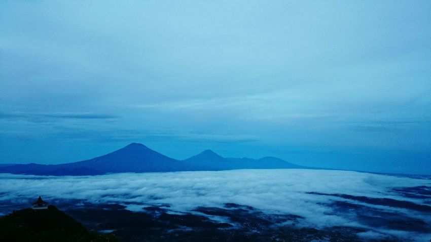 Sindoro-Sumbing Mountain- Taken by Xperia Blue Nature Landscape Mountain Beauty In Nature Cold Temperature INDONESIA Gunungandong XperiaXperformance XPERIA Xperiaphotography Outdoors Sky Java