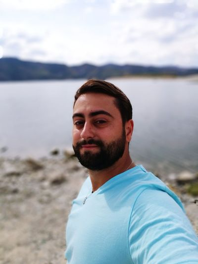 One Man Only Only Men One Person Adults Only Beard Portrait Men Smiling Nature Selfie Young Men People Vacations Water One Young Man Only Journey Travel Skylight Tree Area Bulgaria Europe Travel Destinations Relaxation Time Relax :) Relaxing