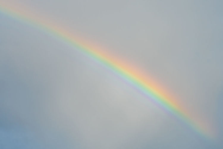 Ways Of Seeing Minimalism Rainbow Nature Sky Colors Outdoors Light Spectrum Refraction Natural Phenomenon Environment A New Beginning Capture Tomorrow