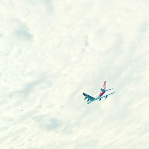 In to the clouds... Planes Aviation Qantas IPhoneography