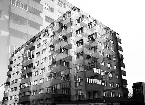Je ne regrette rien... Architecture Dream Inception Immagination Vision Double Exposure Black & White Street Photography Blackandwhite Photography