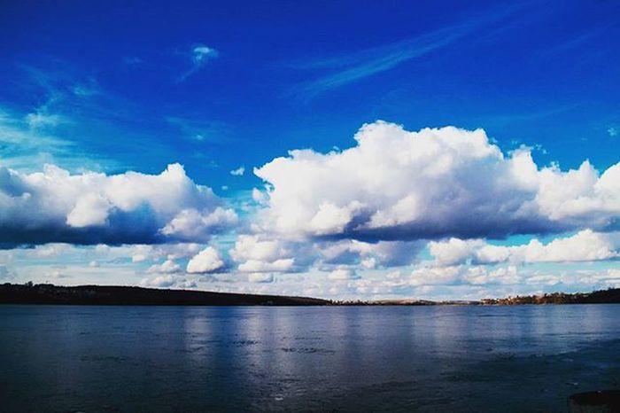 Water Day Sky Outdoors Idyllic Ternopilcity Lake View Lake Beauty In Nature Blue VSCO Vscoua Vscogood Vscogram Vscocam Ukraine Wonderful Weekend Traveltime Tourism Traveling