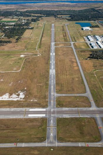 Sanford Airport Check This Out Readyfortakeoff Aerial Shot Aviationphotography Helicopter Aerial Flight Sanford Runway Florida Airport Blue Sky Aerial View Flying Aviation Florida Life ILoveMyJob Nikonphotography Photo Taking Photos Photographer Traveling Aerial Photography Photography Travel