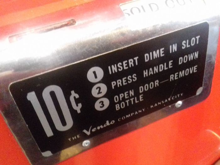 Dime slot Text Communication Dime  Dime Slot Coin Operated Vending Machine Red Labels Backgrounds