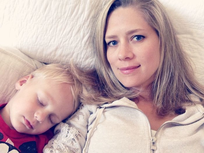 RePicture Motherhood Sleeping Boy Power Napping Boy Mom Parenthood Scotts Valley California United States