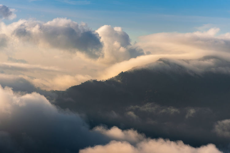 ASIA Beautiful Mountain View Nature Sunlight Backgrounds Beauty In Nature Blue Blue Sky Cloud - Sky Clouds And Sky Cruve Hill Level Light And Shadow Mist Moring Mountain Mountain Peak Mountain Range Mountains Mountains And Sky Sun Sunrise Sunset