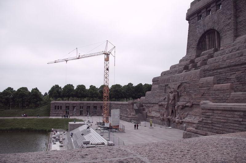 Architecture Denkmal Leipzig Monuments Napoleon Outdoors Statue Völlkerschlachtdenkmal