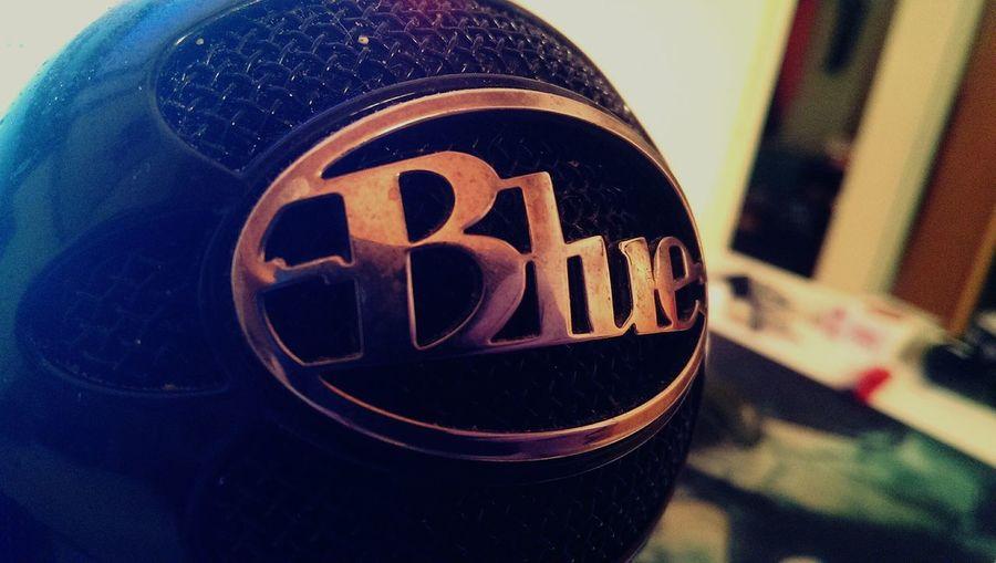 Blue MIC First Eyeem Photo