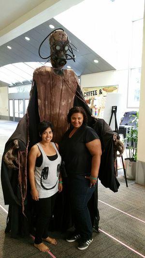 Hella tall! Wizard World Sacramento 2015