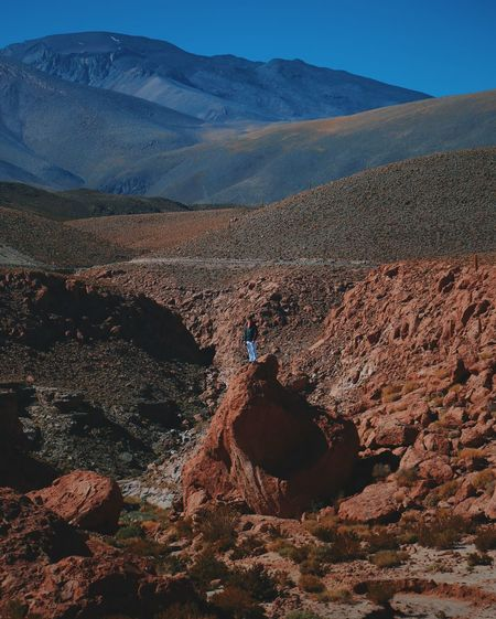 Atacama Atacama Desert Blue Sky Chile Desert Rural Sky Sun Sunlight Traveling
