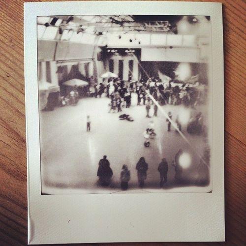 Polaroid Photos Oldskwl Instax blackandwhite selfie landscape blackpool