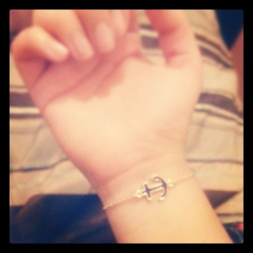 New Bracalet Anchor Of my mom ♥♥♥♥♥