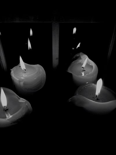 First Eyeem Photo Blackandwhite Candle Chiaroscuro  Light And Shadow