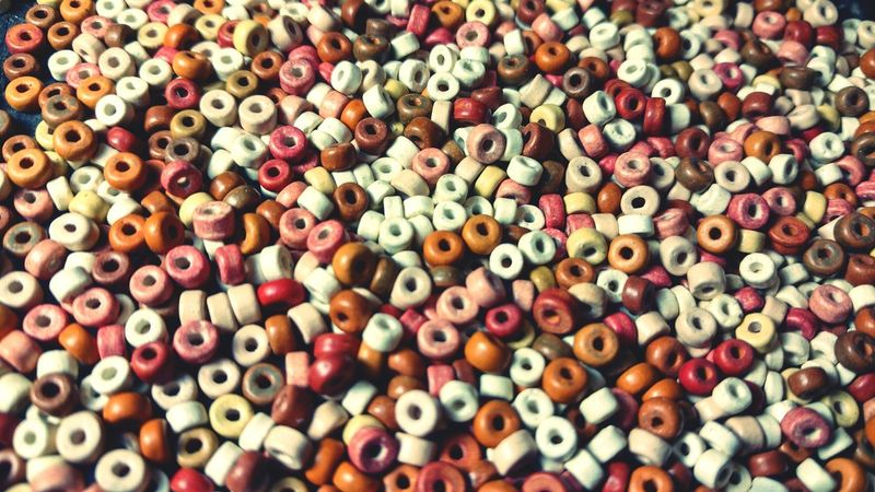 Backgrounds Abundance Multi Colored Large Group Of Objects Variation No People Full Frame Bead Beads Ceramics Choice Market Day