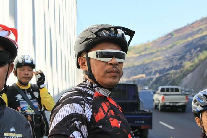 Bycicle Rider Sunglasses Outdoors
