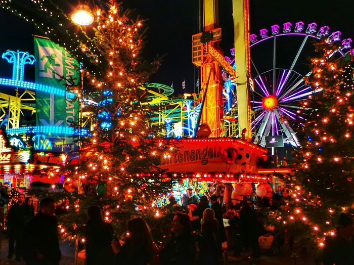 Christmas Time Noise Lights Carousel