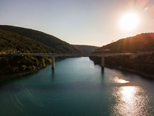 Lac de Sainte Croix, Gorges du Verdon and surroundings Drone  Verdon Beauty In Nature Bridge Bridge - Man Made Structure Built Structure Clear Sky Day Drone Photography Dronephotography Droneshot Gorges Du Verdon Lac Lake Lens Flare Mountain Nature No People Non-urban Scene Outdoors Reflection River Sainte Croix Sainte Croix Du Verdon Scenics - Nature Sky Sun Sunlight Tranquil Scene Tranquility Verdon Gorge Water Waterfront