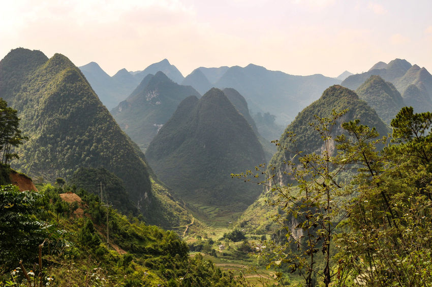 Vietnam Vietnamphotography Vietnam Mountains Đồng Văn Mountain Scenics - Nature Beauty In Nature Mountain Range Sky Environment Tranquil Scene Landscape Tranquility Nature Plant Non-urban Scene Idyllic Tree No People Outdoors Mountain Peak Remote Day Panoramic