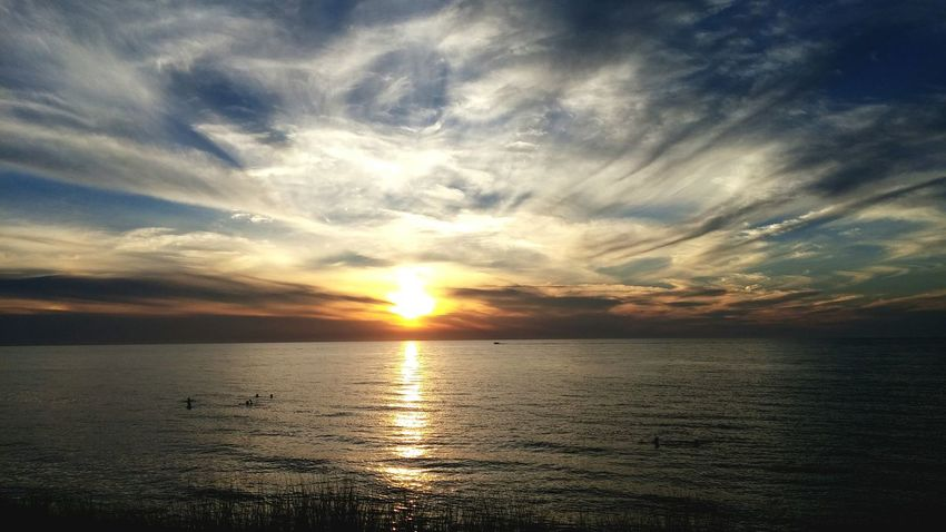 Summer Sunser Beach Pinery Provincial Park Sunset Nature Wonders Of Nature