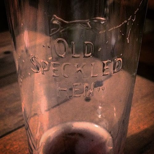#oldspeckledhen #beer #glass featuring a #fox