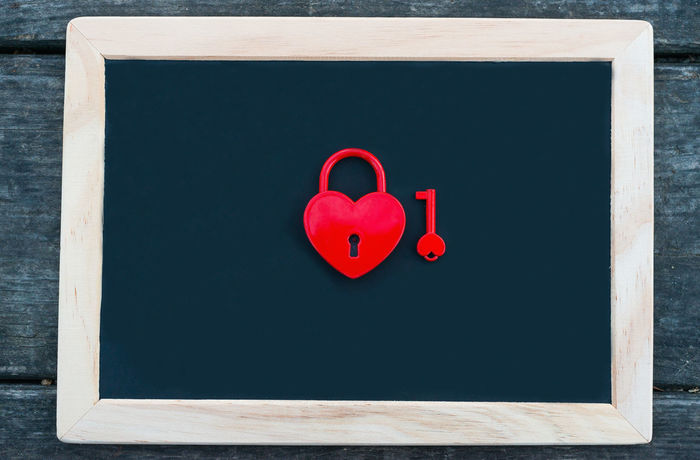 Anniversary Backgrounds Beautiful Blackboard  Blanck Celebration Chalkboard Closed Color Concept Copy Space Day Heart Heart Padlok Heartpadlock Holiday Love Love ♥ Padlock Romance Table Valentine's Day  Water Winter
