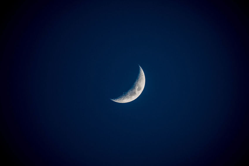 Beauty In Nature Clear Sky Half Moon Moon Night Outdoors Beautiful Night Sky Nightshot Night Sky Idyllic Breathing Space Investing In Quality Of Life EyeEmNewHere Been There.