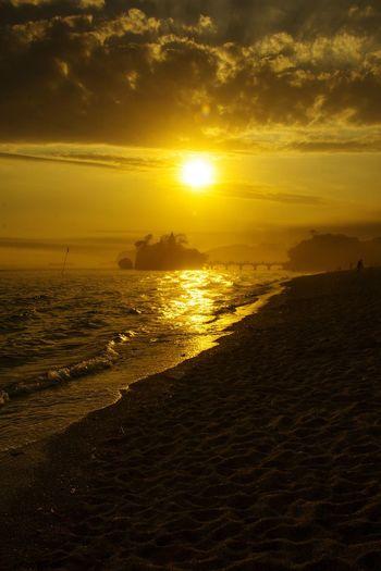 First Eyeem Photo Sea Landscape Nature Dramatic Sky Sun Sunset